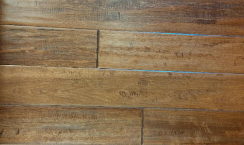 34 X 5 Solid Hand Scraped Wide Plank Hardwood Flooring 1st Quality